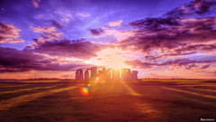 A dream. (_Anathemus_) Tags: stonehenge uk england nikon d750 monument ancient history sunset dreamy dream wiltshire rocks ring sun prehistoric unesco world heritage site neolithic stone