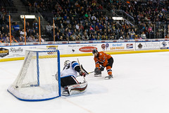 "Missouri Mavericks vs. Wichita Thunder, February 3, 2017, Silverstein Eye Centers Arena, Independence, Missouri.  Photo: John Howe / Howe Creative Photography • <a style=""font-size:0.8em;"" href=""http://www.flickr.com/photos/134016632@N02/32561318002/"" target=""_blank"">View on Flickr</a>"