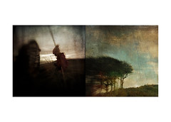 A tale of curiosities (mark kinrade) Tags: diptych manx landscapes rural curiosities
