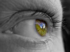 soul window (MacroMarcie) Tags: clouds eye macromarcie self selfie 365 project365