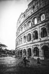 sua maestà il colosseo (Angelo Petrozza) Tags: colosseo colosseum flavian amphitheatre anfiteatro flaviano k70 pentax angelopetrozza roma capitale biancoenero blackandwhite