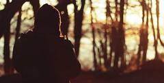 Amanecer (J.J.Evan) Tags: trees light woman sun lake mountains cold film luz sol argentina girl hat forest sunrise movie lago mujer warm árboles colours chica gorro peak colores amanecer cerro bosque otto árbol frío bariloche montañas neuquén cálido