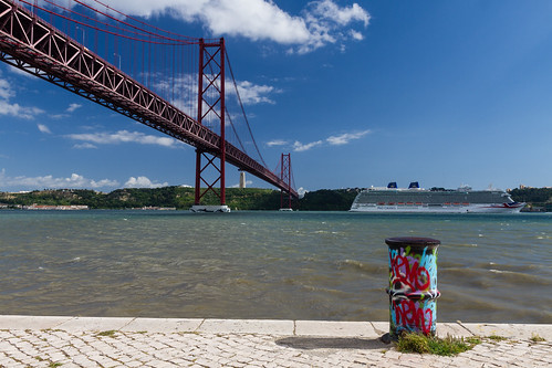 Lisbon 2015 - Suspension Bridge