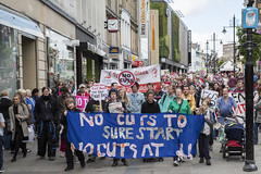 P69A2930 (ca2cal) Tags: street city england people urban newcastle demo march flag union rally protest northumberland website socialist anti fascist socialism tyneandwear northumberlandstreet austerity canonef24105mmf4lisusm canon5dmkiii antiausterity anticuts newcastleunities endausteritynow