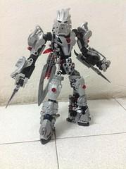 Dark Kai, The Silver Wolf (Josh~) Tags: dark lego kai bionicle toa moc