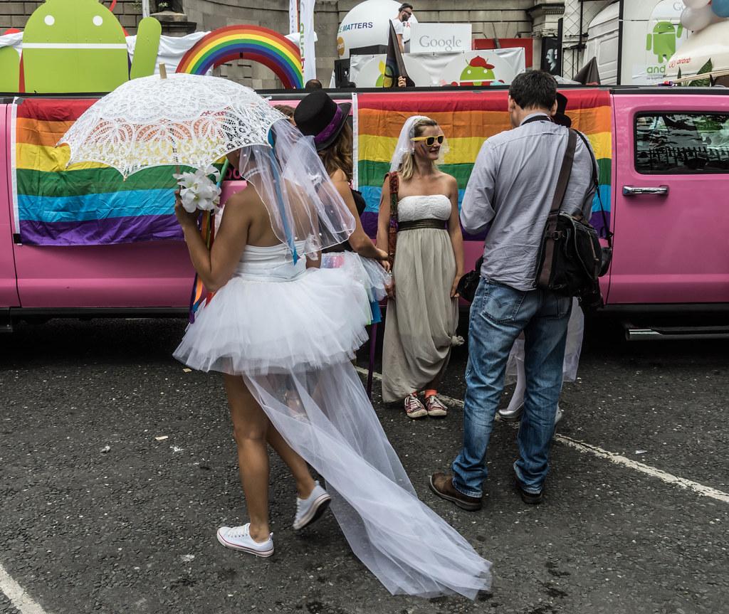 DUBLIN 2015 GAY PRIDE FESTIVAL [BEFORE THE ACTUAL PARADE] REF-106233
