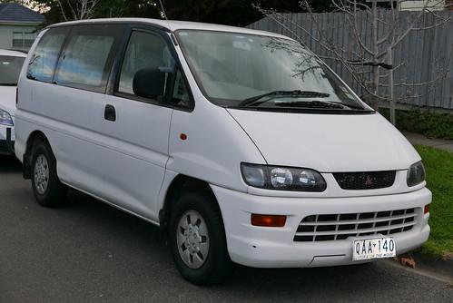 1999 Mitsubishi Starwagon (WA) GLX van