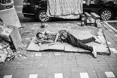 the unfortunate (0verexposed) Tags: china leica 35mm homeless beijing mp f2 240