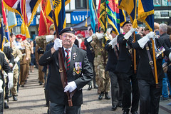 Armed Forces Day Wigan 2015 (Mister Oy) Tags: people army soldiers veteran forces veterans wigan davegreen armedforcesday oyphotos oyphotos