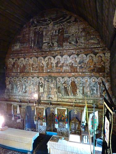 Budesti - church, Biserica de lemn Sfântul Nicolae., (2)