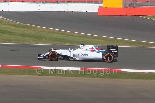 Felipe Massa in Free Practice 1 at the 2015 British Grand Prix