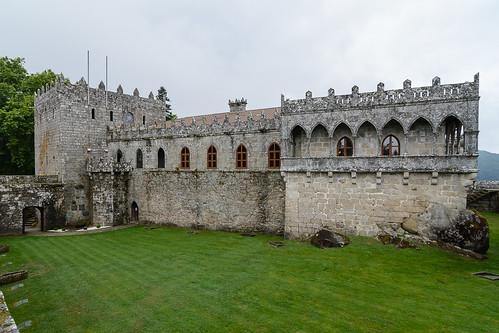 El castillo desde la muralla