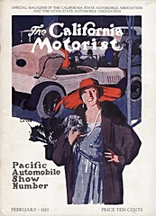 The California Motorist, Feb. 1919 (aldenjewell) Tags: show california magazine automobile pacific number february 1919 motorist