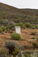 IMG_6464 'headstone', marker for death (francois f swanepoel) Tags: death memorial die headstone memory marker kearney caraccident karoo nieuwoudtville karroo willemdavidkearney ekisstomeksalmymondnieoopmaaknie