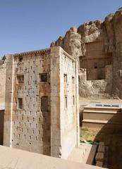Ka'ba-ye Zartosht @ Naqsh-e Rustam (blondinrikard) Tags: iran persia graves historical archaeological tombs nekropolis naqsherustam kabayezartosht