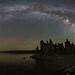 Mono Lake Milky Way Panorama