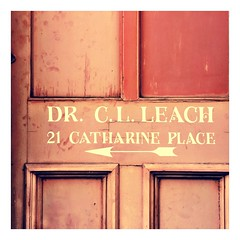 Dr Leach will see you now (theaspiringphotographer) Tags: door camera bath doctor arrow iphone