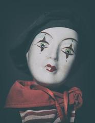 A Portrait (Edson_Matthews) Tags: portrait doll creepy mime demented hss uncool2 uncool3 uncool4 uncool5 uncool6 uncool7 thatsnowomanitsamanman