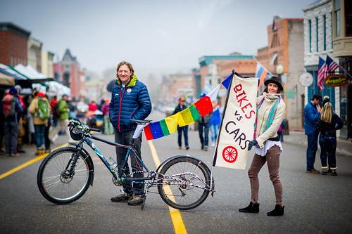 Mountainfilm Ice Cream Social - Bikes vs Cars