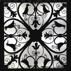 Silhouette Detail (Read2me) Tags: she nyc silhouette square pattern interior ceiling ge morganlibrary cye thechallengefactory pregamewinner