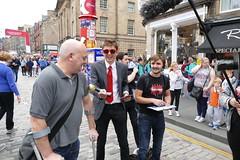 Edinburgh Fringe Festival 2015 (36) (Royan@Flickr) Tags: street costumes festival actors high edinburgh royal fringe entertainment international acting singers performers mile 2015 20150811