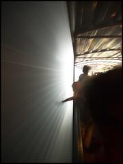 Speed (E Starck) Tags: france train tunnel dordogne olympus panasonic vitesse perigord quercy m43 vapeur