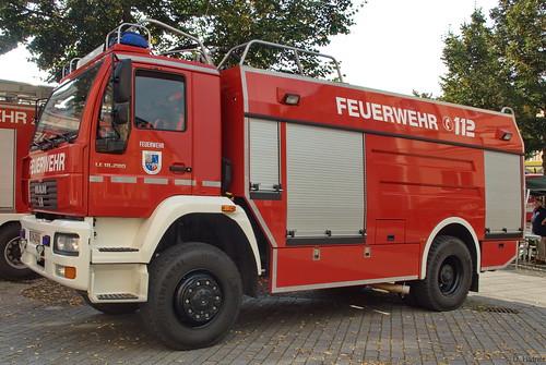 2004 Tanklöschfahrzeug (TLF 24-50) MAN LE 18.280 Freiwillige Feuerwehr Zella-Mehlis