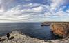Acantilado Cabo San Vicente (puma3023) Tags: digitalcameraclub digiltalcameraclub acantilado cabo mar cabosanvicente océano atlántico portugal pano panoramica nubes