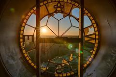 Hartwood abandoned Hospital clock tower
