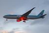 HL8075 - 2016 build Boeing B777-FEZ, dusk arrival at Heathrow during a heavy rain shower (egcc) Tags: 1370 62631 b772 b777 b777200 b777fez b777f boeing cargo egll freighter hl8075 heathrow kal ke koreanair koreanaircargo lhr lightroom london skyteam triple triple7