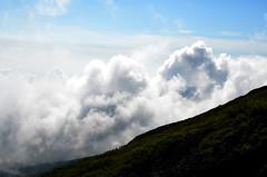 Cloud Ascending Mount Fuji (pokoroto) Tags: cloud ascending mount fuji  fujisan yamanashi prefecture   japan 8   hachigatsu hazuki leafmonth 2016 28 summer august