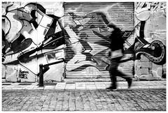 Graffiti in Valencia (aviana2) Tags: graffiti bw valencia spain fotocompetitionbronze