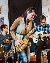 sweet sax... (IndyEnigma) Tags: music livemusic indianapolis indiana jazz saxophone autumn d300