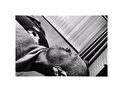 Horizontal ! well almost ;-)) (CJS*64) Tags: nikon nikkorlens nikkor nikonj5 j5 craigsunter cjs64 cjs flatout sleep nap lyingdown powernap blackwhite bw blackandwhite whiteblack whiteandblack mono monochrome