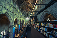 The most beautiful bookstore in the world (Flying From My Soul) Tags: 馬斯垂克 林堡省 荷蘭 mostbeautiful bookstore maastricht