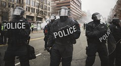 Presidential Inauguration Protest (clickchick888) Tags: protest presidential inauguration presidentialinauguration presidenttrumpprotest protesttrump 2017 teargas tear gas mace percussion bombs percussionbombs arrests police protestors