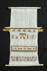 Loom With Nativity Scene Oaxaca (Teyacapan) Tags: telar looms backstrap oaxacan mexican nacimiento weavings textiles tejidos sanmateodelmar