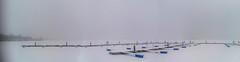 st_26 (Franz-Rudolph) Tags: bitterfeld am grosen goitschesee lake groser sachsenanhalt saxonyanhalt franzrudolph winter eis schnee ice snow trüb blur cold kalt weis white bootsstege boadbrgdes deserted menschenleer