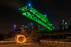 Finally - Das Krokodil (claudia@flickr) Tags: duisburg industrieparknord industrrial landschaftsparknord nacht