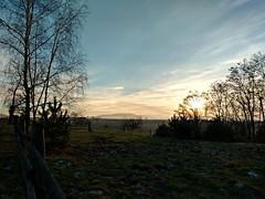 Masyw Ślęży - Sady (nesihonsu) Tags: masywślęży sudeticforeland poland polska lowersilesia sady village rural krajobraz landscape sundog sunset sky