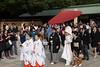 Follow the leader (Dominic Sagar) Tags: 2016 fujifilm japan meijijingu t050 t100 t200 wedding xt1 shinto shrine temple shibuyaku tōkyōto jp