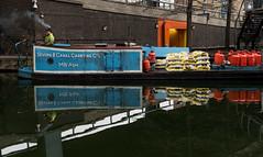 canal reflections (Sisqu Tena) Tags: london londres canal barco fuji geometria reflections reflexes