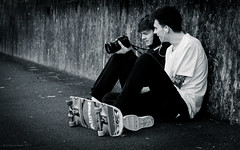brothers (rich lewis) Tags: street streetphotography skateboard skate photography richlewis