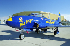 "CT-133 N333MJ as ""Blue Angel 0"" (Ian E. Abbott) Tags: canadairct133silverstar canadairct133 ct133silverstar canadair ct133 silverstar t33456 n333mj blueangels t33 tv2 shootingstar 137955 mojaveairandspaceport mojaveairport mojave kmhv mhv jetwarbirds jettrainer nikonfilmcameras nikon film nikonfm2"