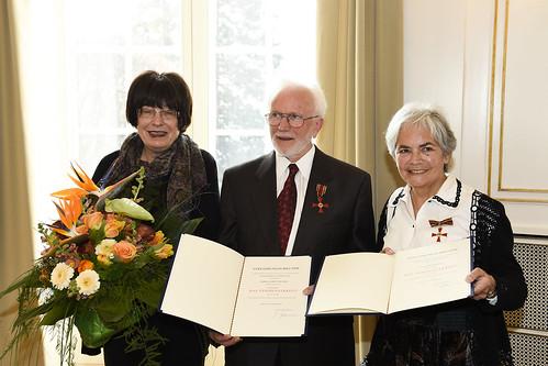 Verdienstkreuz für Ilse und Albert Bäumer