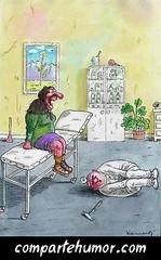 Médicos (Comparte Humor) Tags: compartehumor humor playstore imagenes risas graciosas médicos doctor doctores enfermero enfermeros abuela abuelas abuelo abuelos viejo viejos vieja viejas reflejo reflejos camilla camillas martillo martillos patada patadas golpe golpes