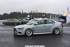 Mitsubishi Lancer Evolution (Fieldstone1993) Tags: show car track evolution event lance bmw mitsubishi forged evo slammed tuned burramundi sntace trackandshow