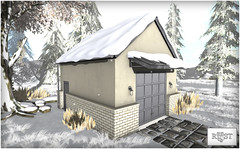ROOST - York Vale Garage Snow Roof (...ROOST...) Tags: winter house snow home mesh furniture garage shed decor roost snowroof