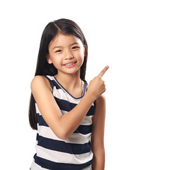 Index finger up (Patrick Foto ;)) Tags: show portrait people white cute girl beautiful beauty smile face up sign female warning point asian fun thailand happy person kid eyes asia pretty child hand looking arm little sweet expression finger background young adorable happiness thai attractive teenager advice concept cheerful gesture joyful attention index enjoying isolated exclamation clever