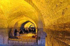 Iran_6643 (DavorR) Tags: bridge iran most esfahan isfahan khajoo khajubridge